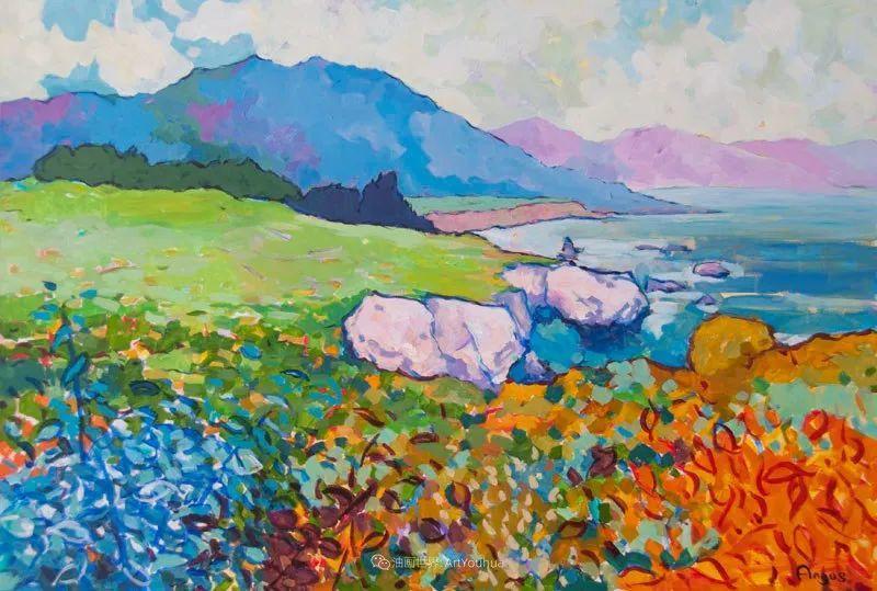 他本无意成为画家,奈何大胆的色彩和独特的构图,太受欢迎!插图163