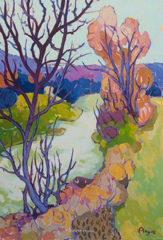 他本无意成为画家,奈何大胆的色彩和独特的构图,太受欢迎!插图165