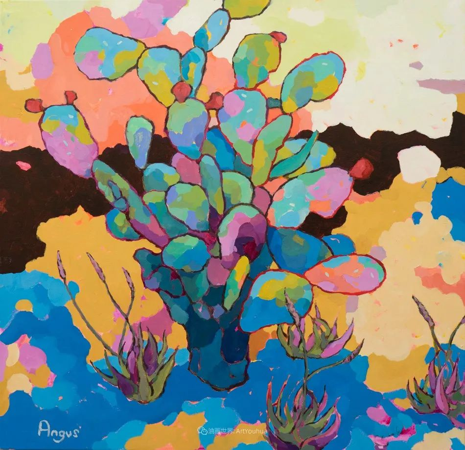 他本无意成为画家,奈何大胆的色彩和独特的构图,太受欢迎!插图169