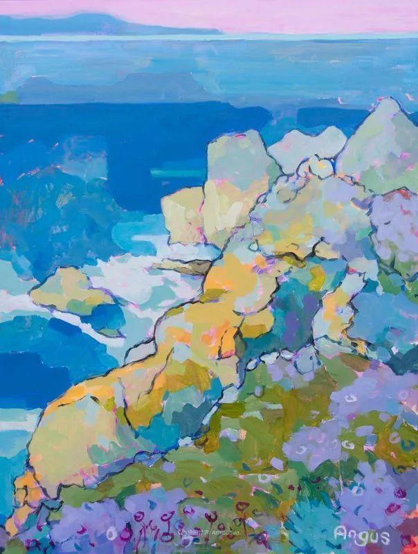 他本无意成为画家,奈何大胆的色彩和独特的构图,太受欢迎!插图183