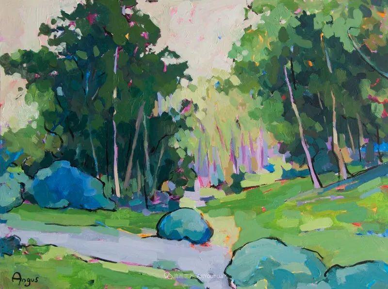 他本无意成为画家,奈何大胆的色彩和独特的构图,太受欢迎!插图187