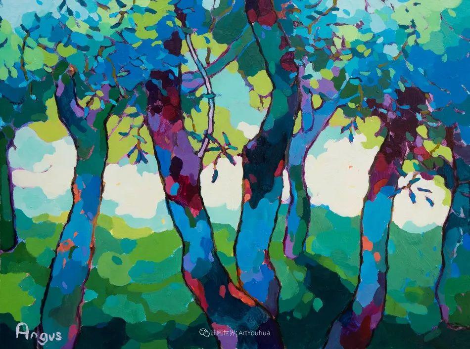 他本无意成为画家,奈何大胆的色彩和独特的构图,太受欢迎!插图189