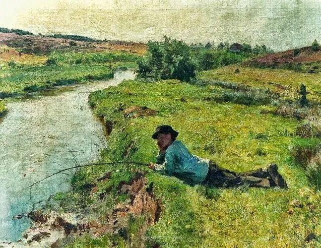 百年前的田园生活,比利时画家Evariste Carpentier插图7