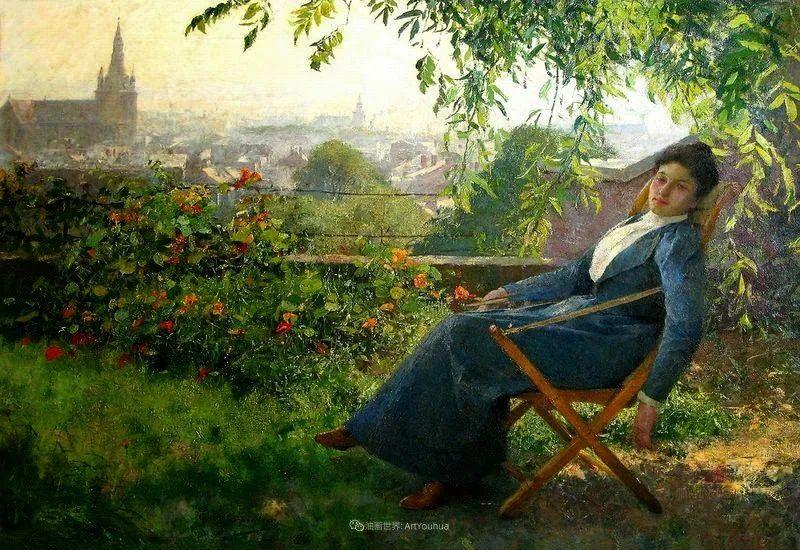 百年前的田园生活,比利时画家Evariste Carpentier插图11