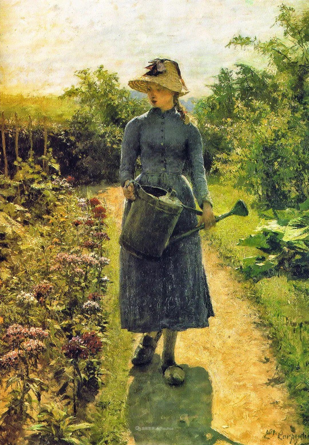 百年前的田园生活,比利时画家Evariste Carpentier插图35