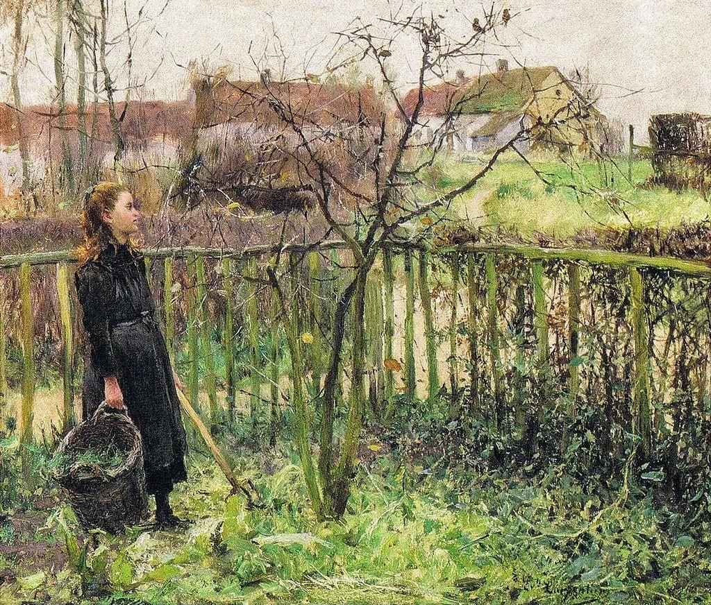 百年前的田园生活,比利时画家Evariste Carpentier插图37