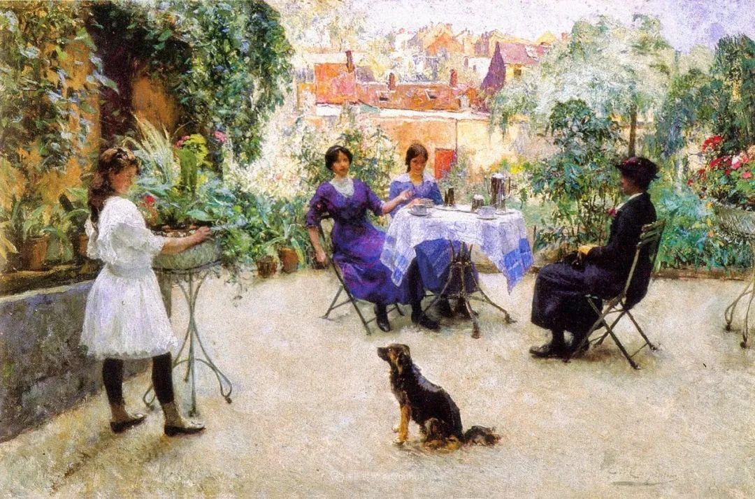 百年前的田园生活,比利时画家Evariste Carpentier插图41