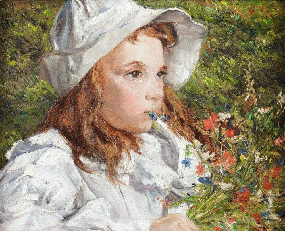 百年前的田园生活,比利时画家Evariste Carpentier插图43