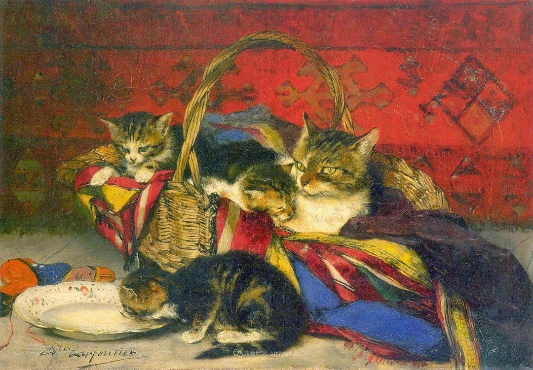 百年前的田园生活,比利时画家Evariste Carpentier插图45