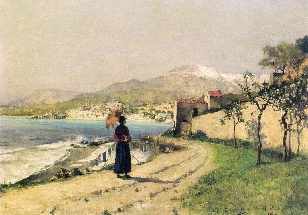 百年前的田园生活,比利时画家Evariste Carpentier插图51
