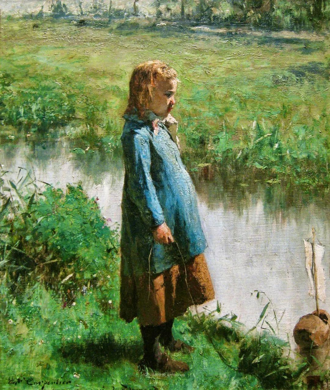 百年前的田园生活,比利时画家Evariste Carpentier插图53
