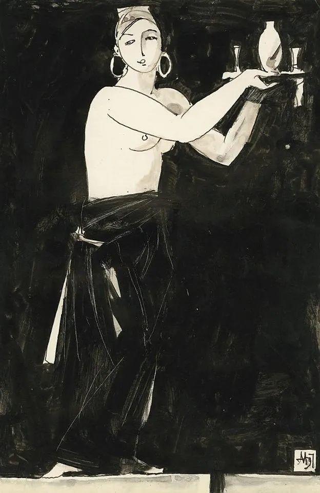 列宾美术学院绘画系主任——安德烈·梅尔尼科夫插图119