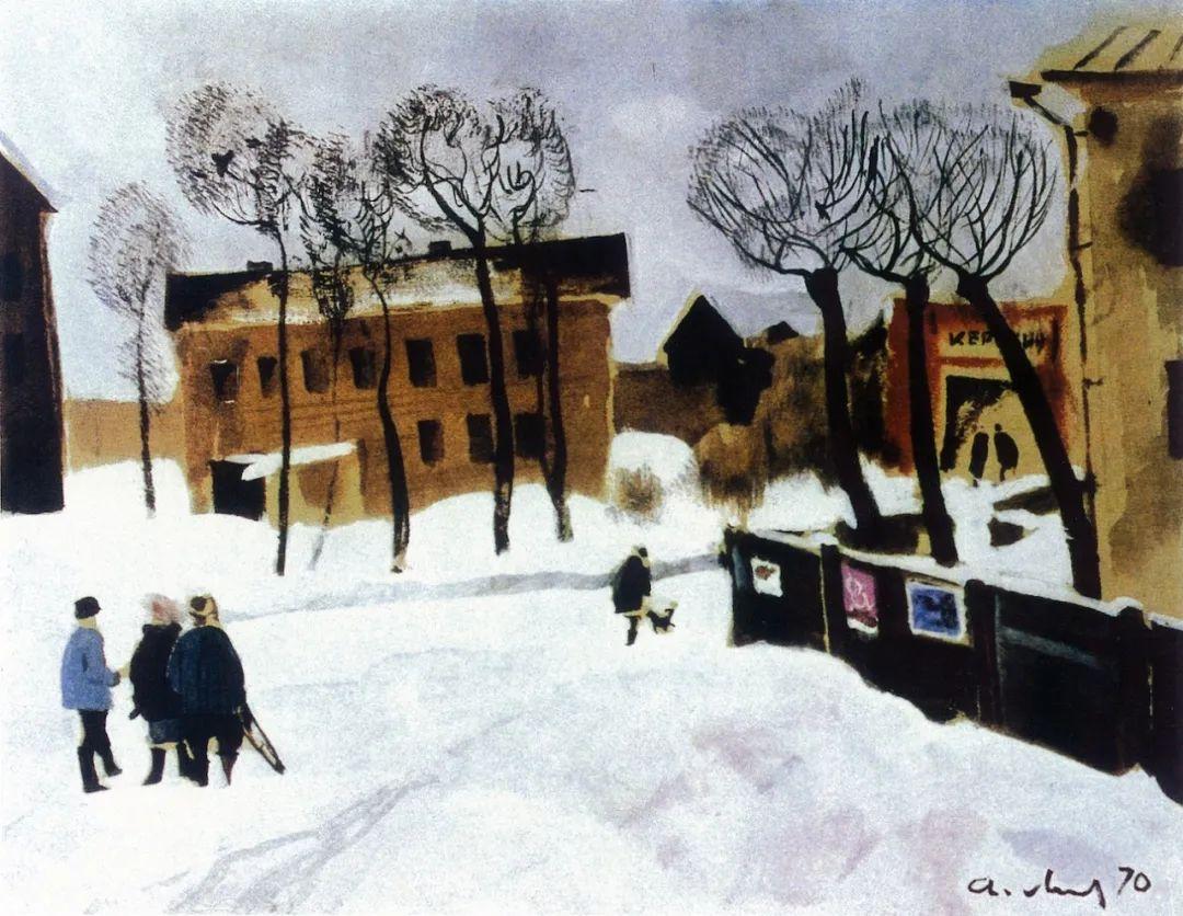 列宾美术学院绘画系主任——安德烈·梅尔尼科夫插图121