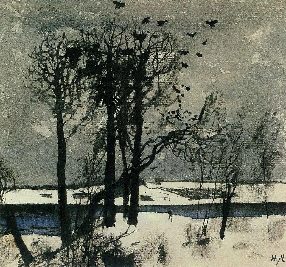列宾美术学院绘画系主任——安德烈·梅尔尼科夫插图125