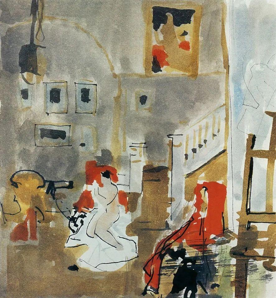 列宾美术学院绘画系主任——安德烈·梅尔尼科夫插图127