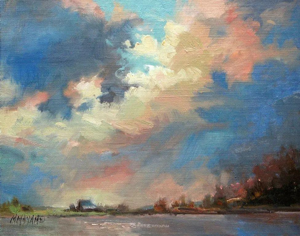 简约多彩的天空,Mary Maxam风景画选插图19