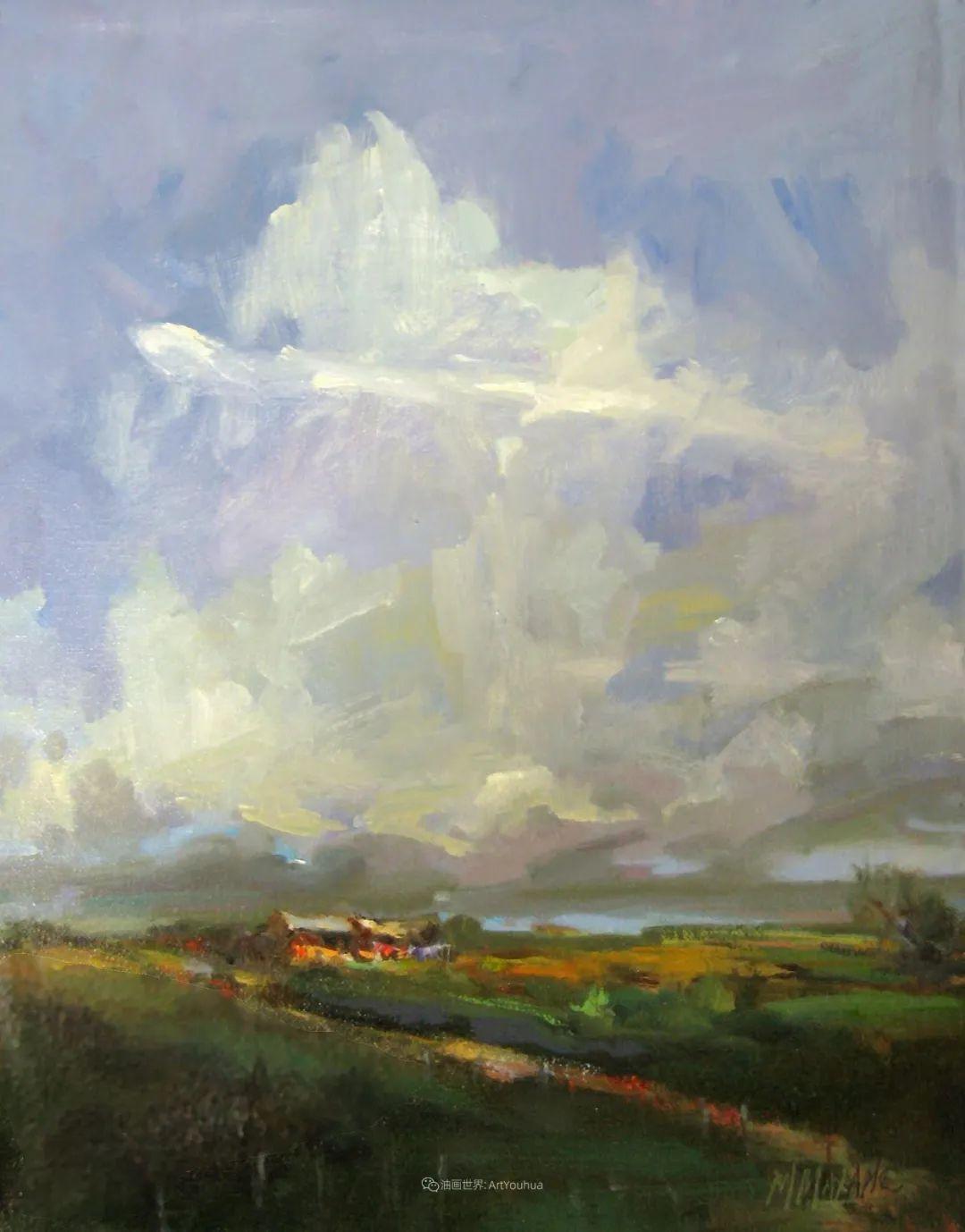 简约多彩的天空,Mary Maxam风景画选插图31