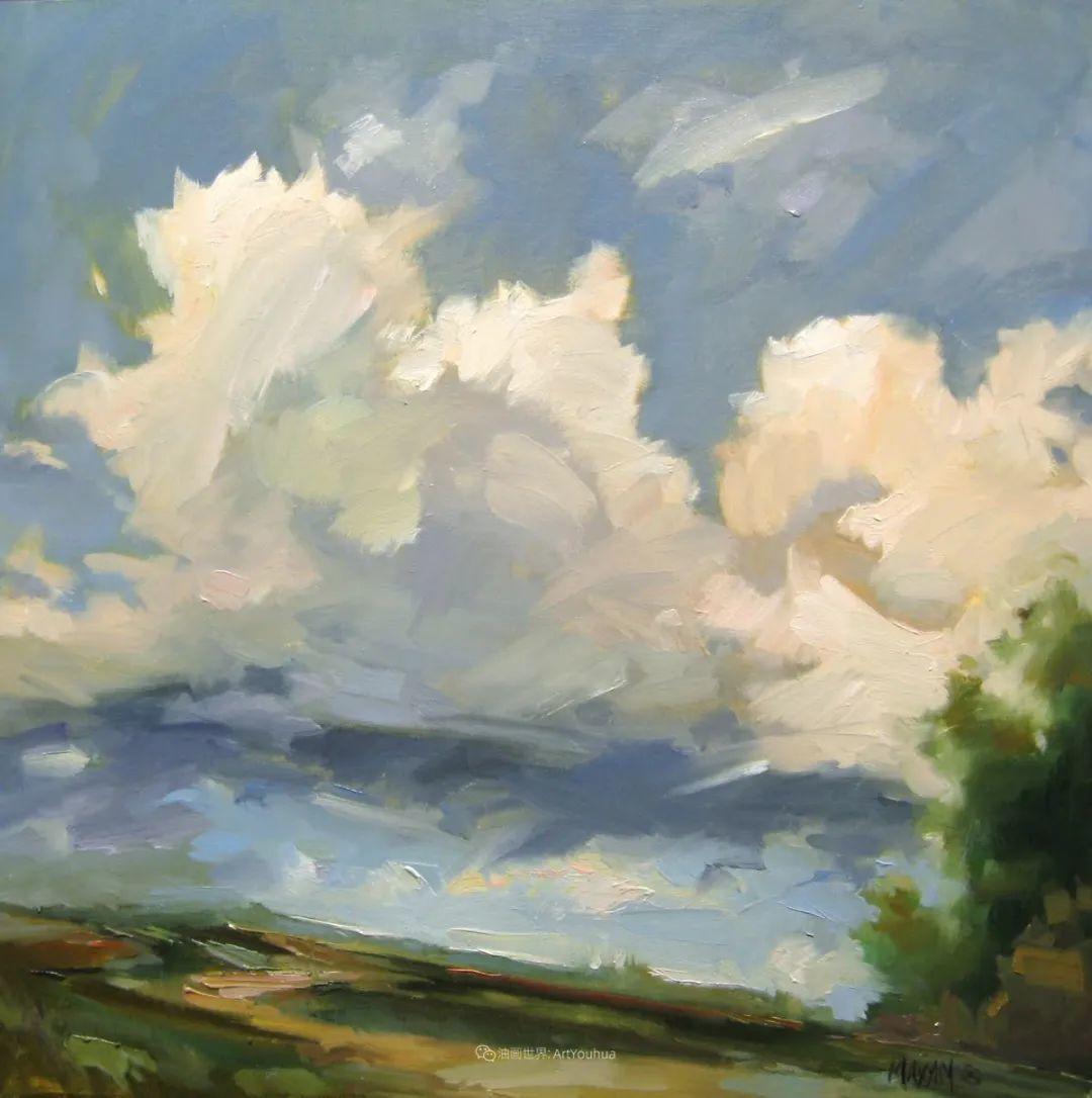 简约多彩的天空,Mary Maxam风景画选插图33