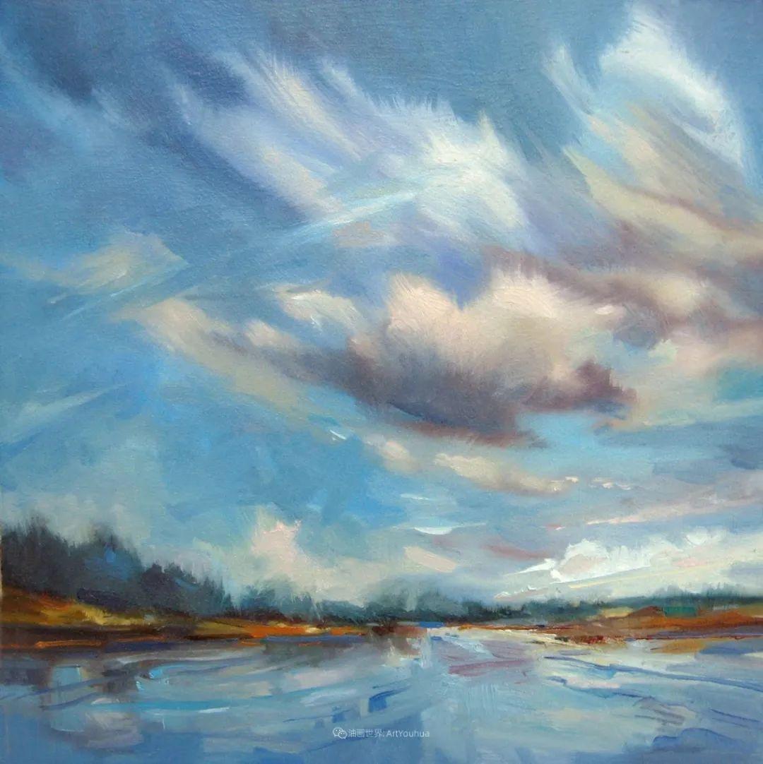 简约多彩的天空,Mary Maxam风景画选插图43