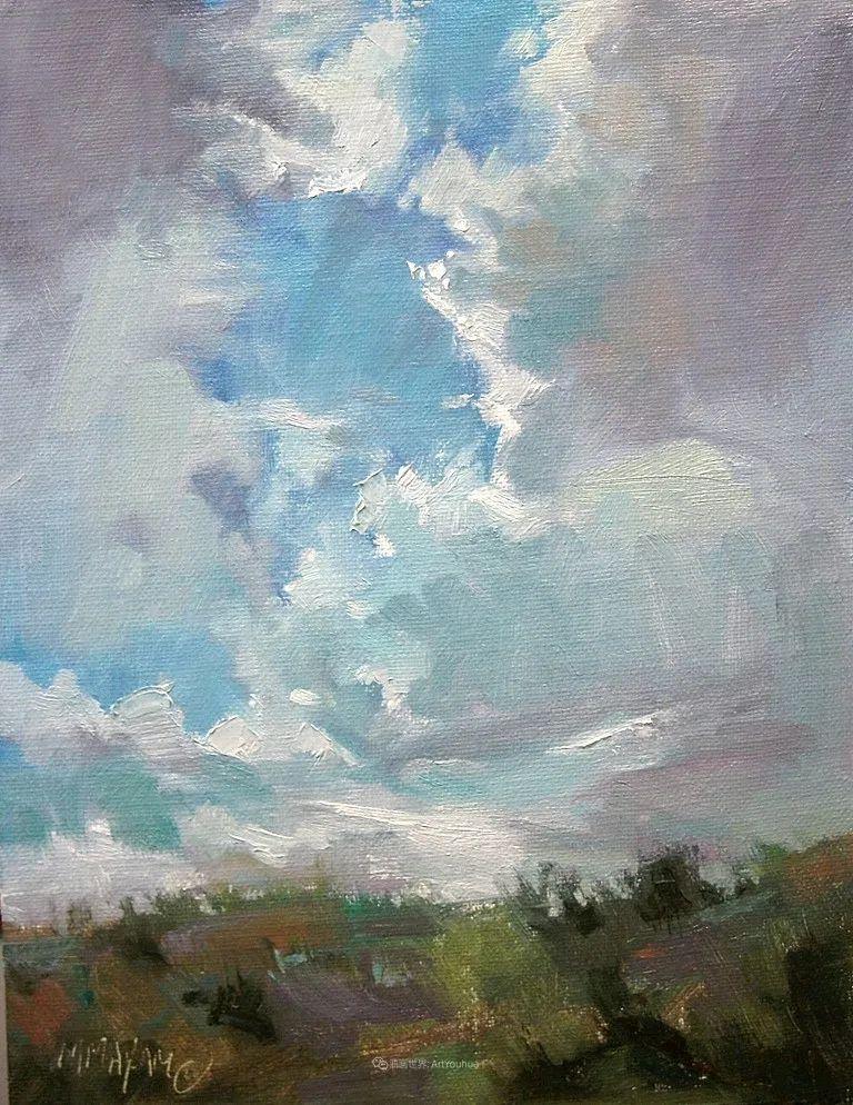 简约多彩的天空,Mary Maxam风景画选插图51