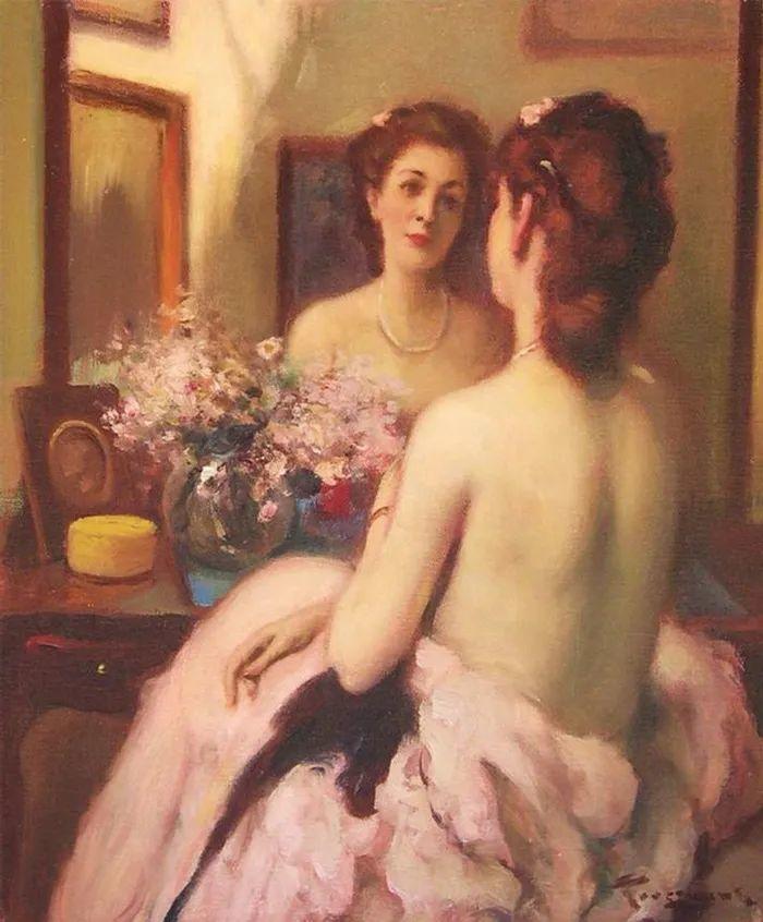 丰富和谐的色调,笔触细腻的女性肖像!插图5