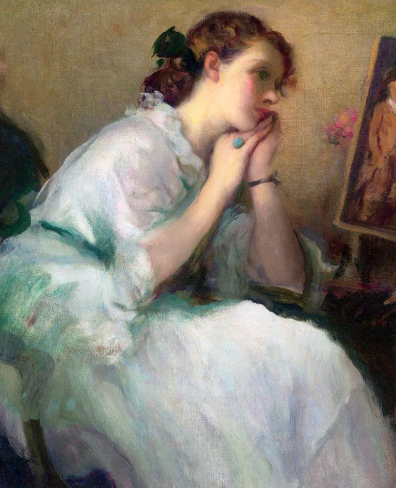 丰富和谐的色调,笔触细腻的女性肖像!插图9