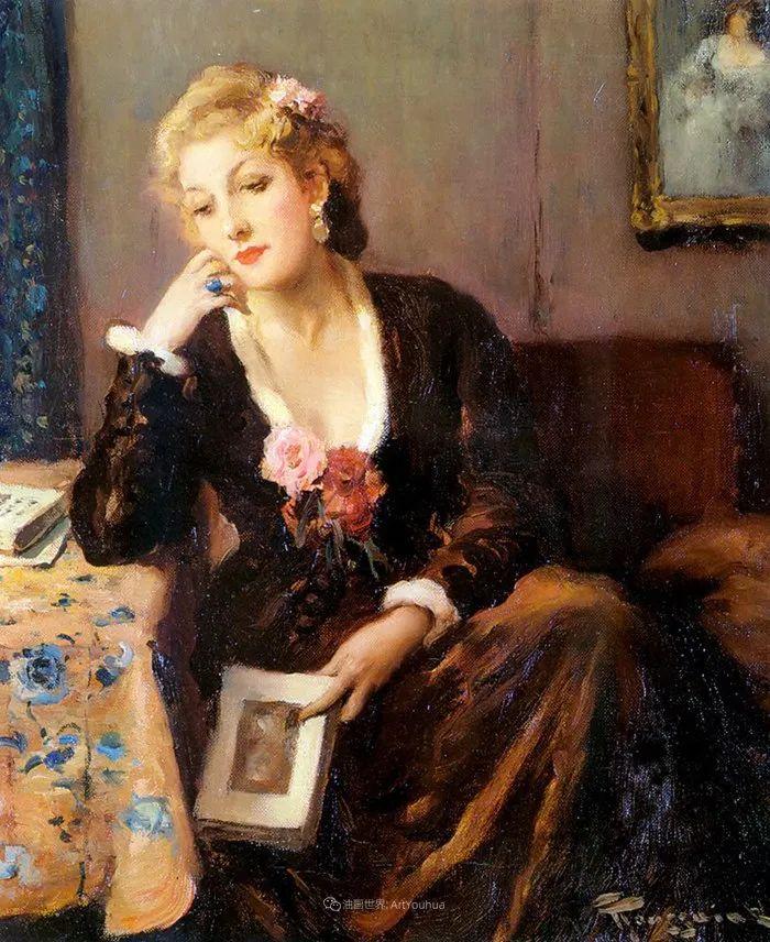 丰富和谐的色调,笔触细腻的女性肖像!插图18