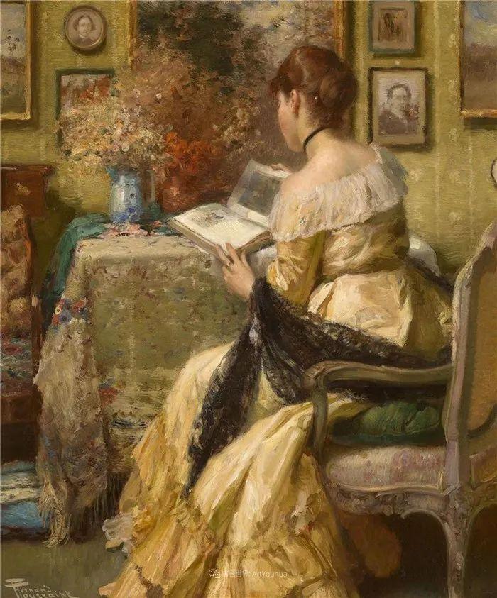 丰富和谐的色调,笔触细腻的女性肖像!插图22