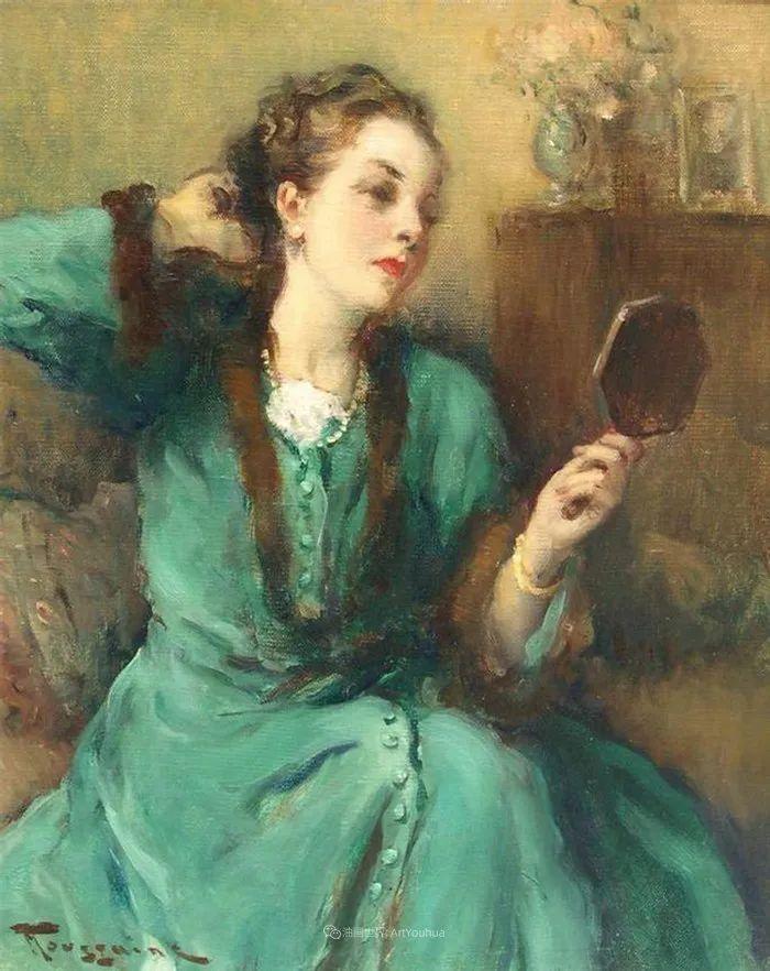 丰富和谐的色调,笔触细腻的女性肖像!插图15