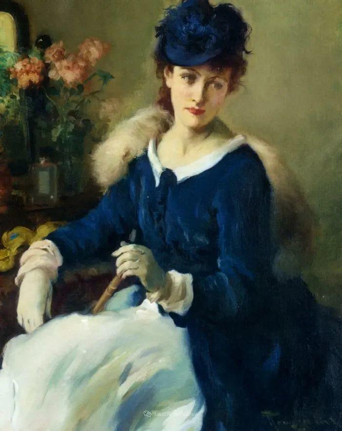 丰富和谐的色调,笔触细腻的女性肖像!插图34