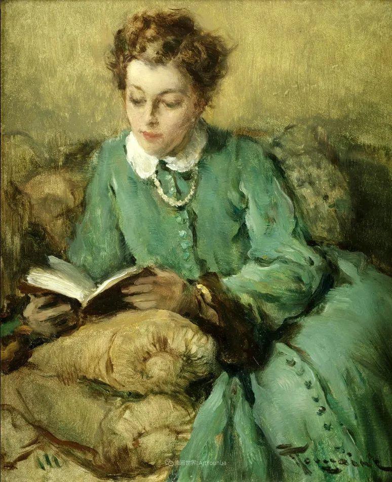 丰富和谐的色调,笔触细腻的女性肖像!插图42