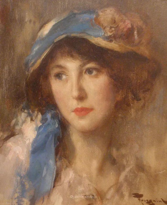 丰富和谐的色调,笔触细腻的女性肖像!插图44