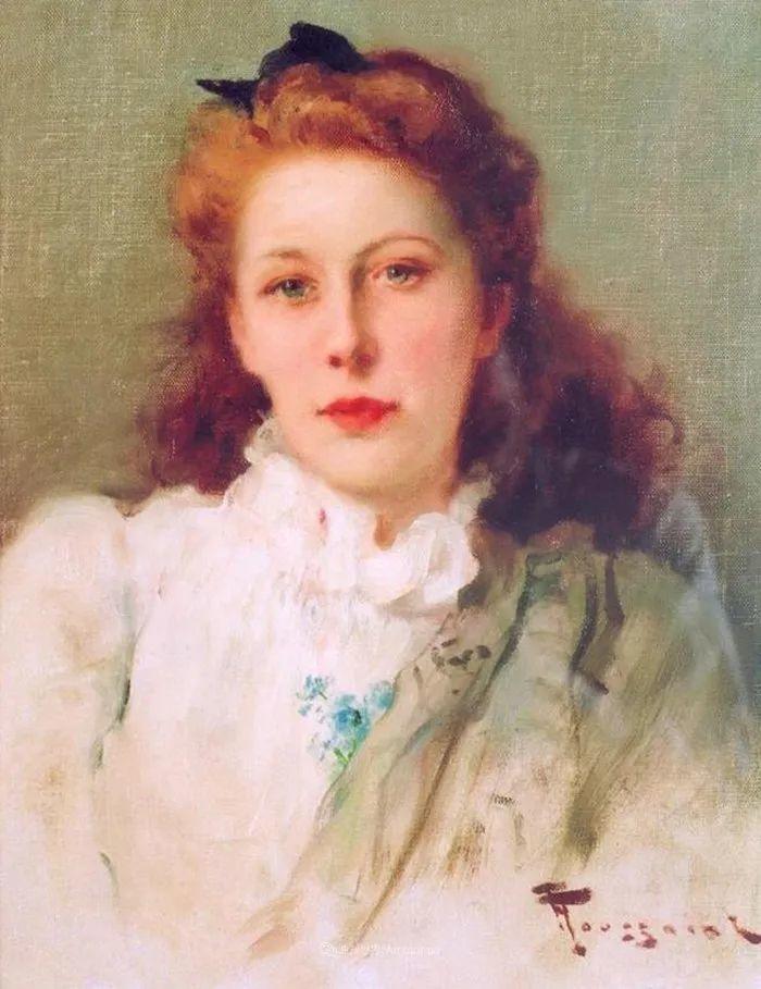 丰富和谐的色调,笔触细腻的女性肖像!插图23