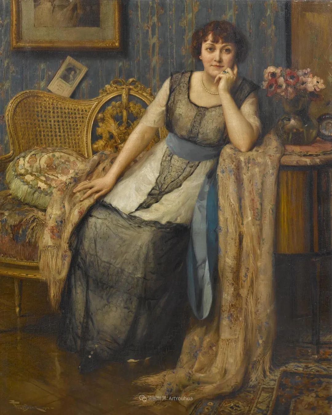 丰富和谐的色调,笔触细腻的女性肖像!插图48