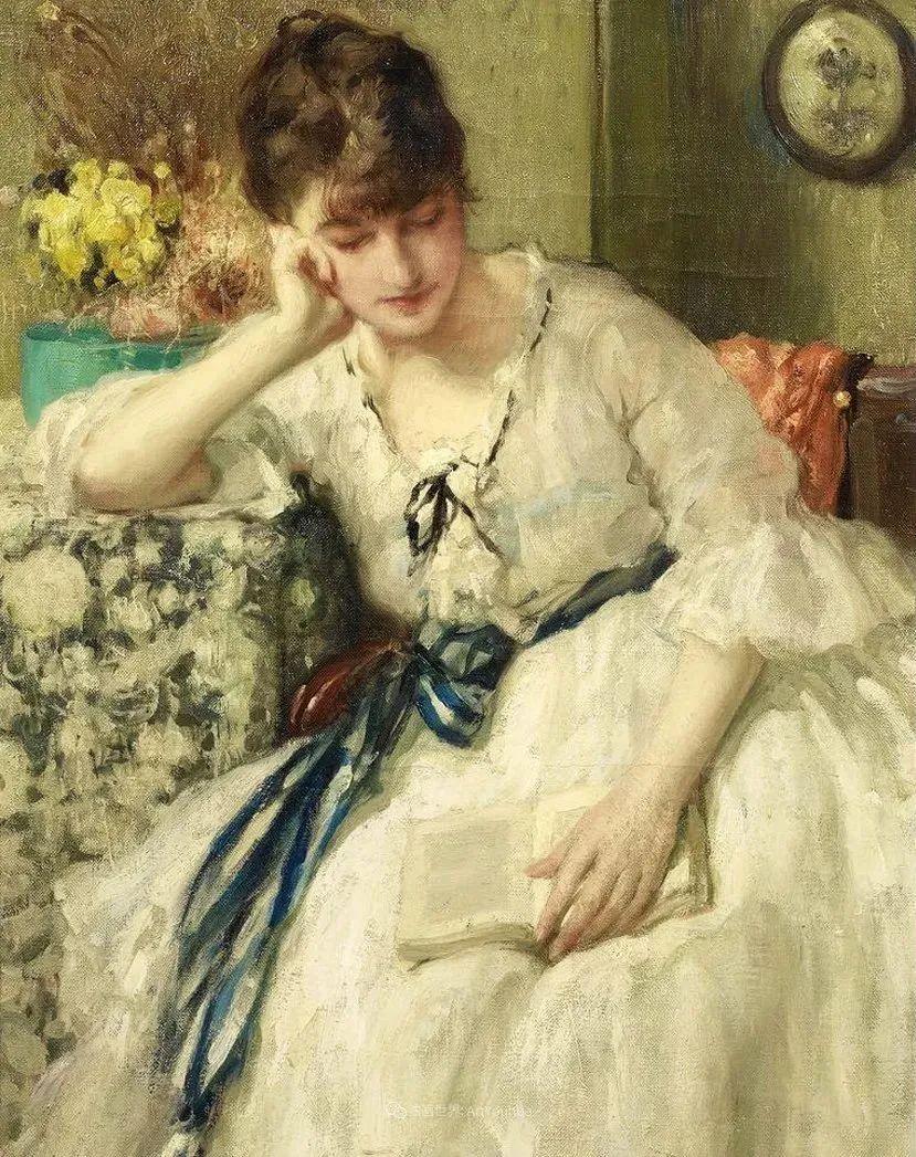 丰富和谐的色调,笔触细腻的女性肖像!插图52