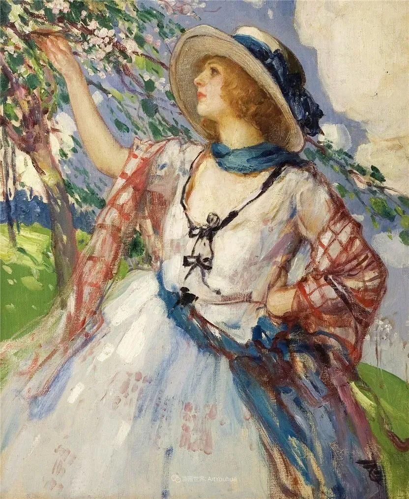 丰富和谐的色调,笔触细腻的女性肖像!插图54