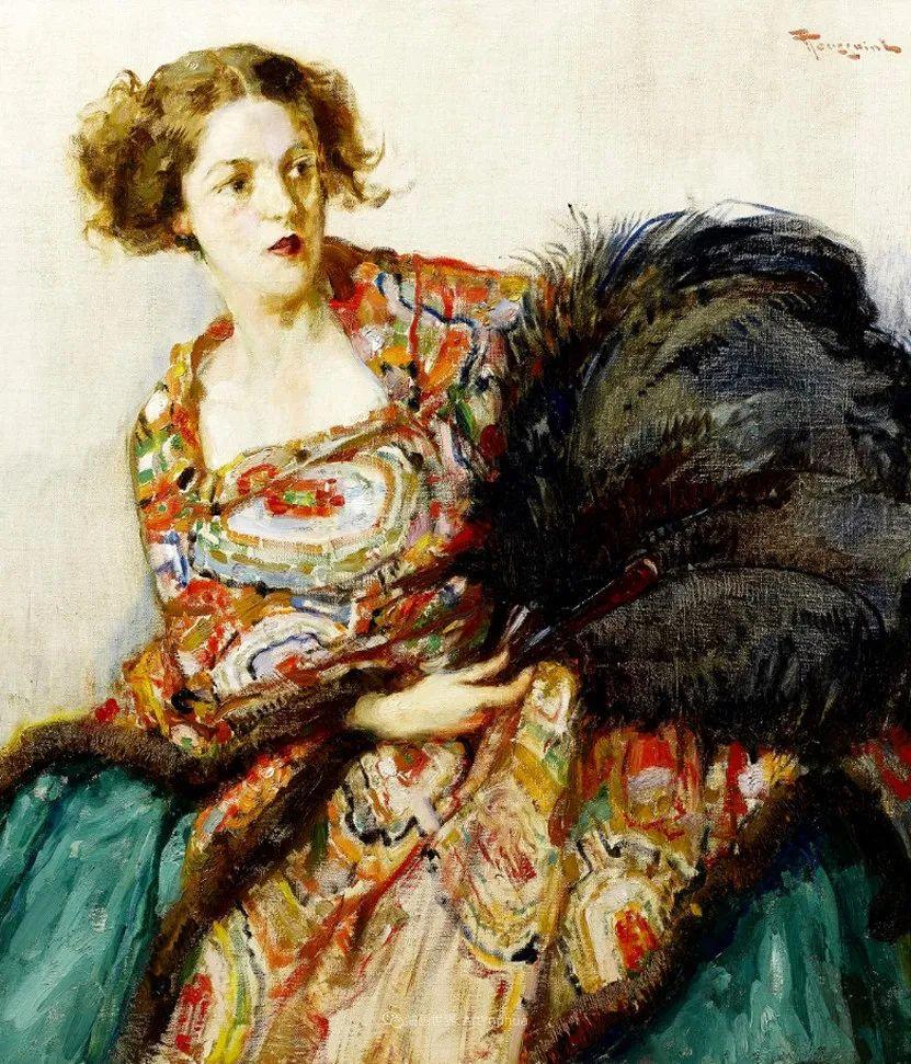 丰富和谐的色调,笔触细腻的女性肖像!插图56