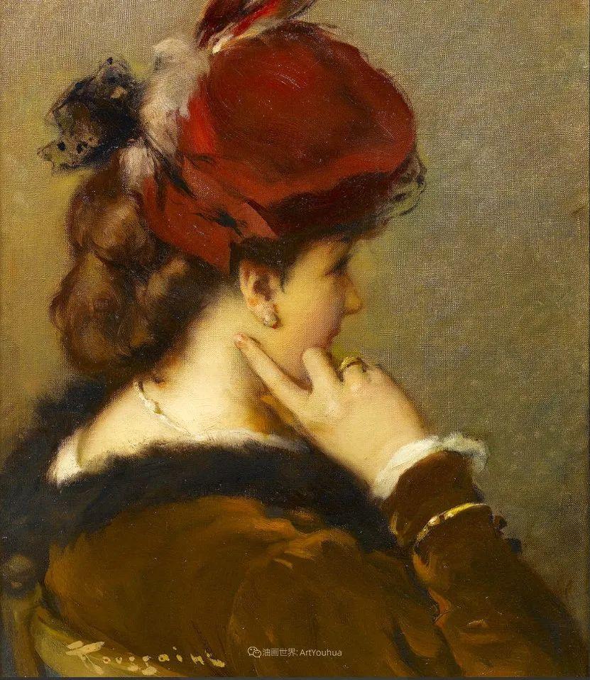 丰富和谐的色调,笔触细腻的女性肖像!插图58