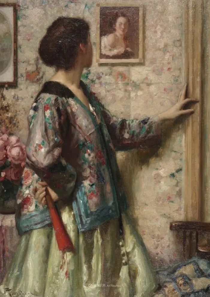 丰富和谐的色调,笔触细腻的女性肖像!插图64