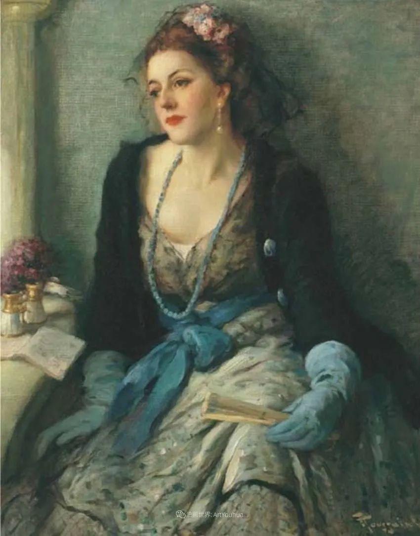 丰富和谐的色调,笔触细腻的女性肖像!插图68