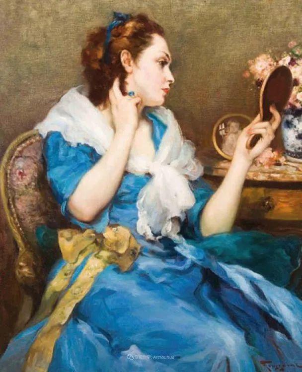 丰富和谐的色调,笔触细腻的女性肖像!插图36