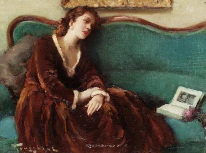 丰富和谐的色调,笔触细腻的女性肖像!插图74