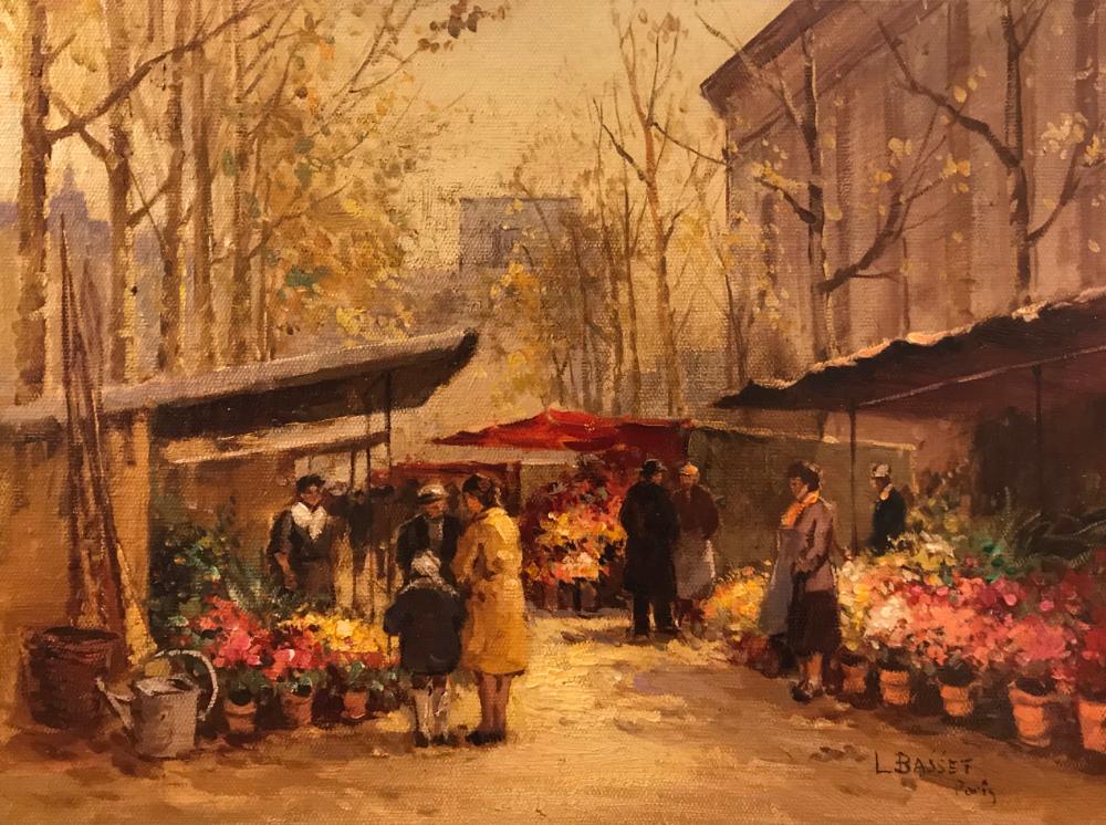 城市里的光,法国画家Louis Basset插图3