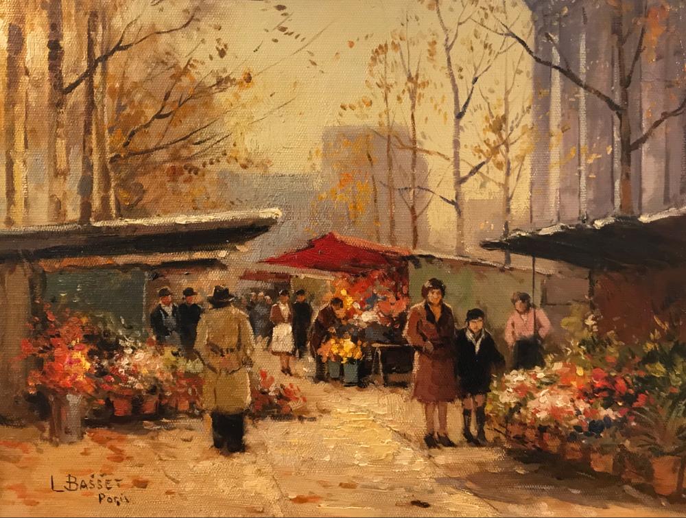 城市里的光,法国画家Louis Basset插图5