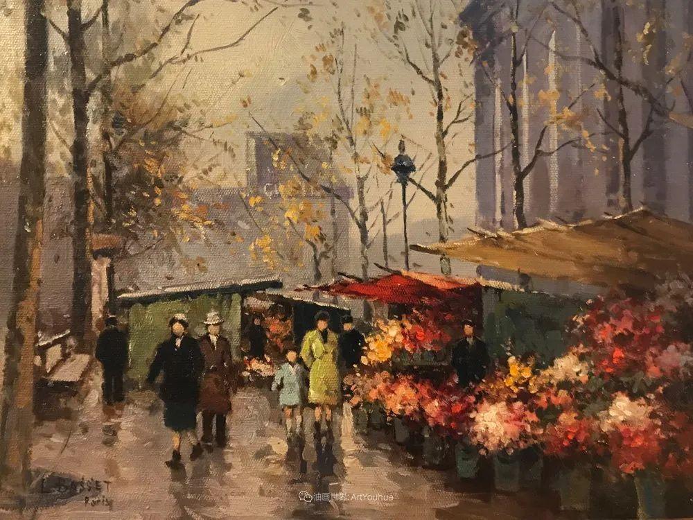 城市里的光,法国画家Louis Basset插图9