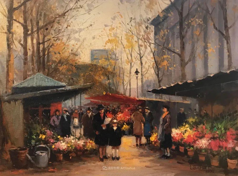 城市里的光,法国画家Louis Basset插图13
