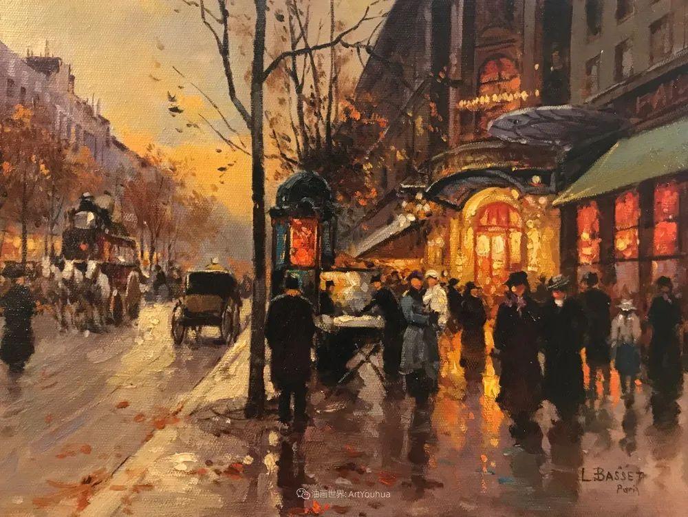 城市里的光,法国画家Louis Basset插图23