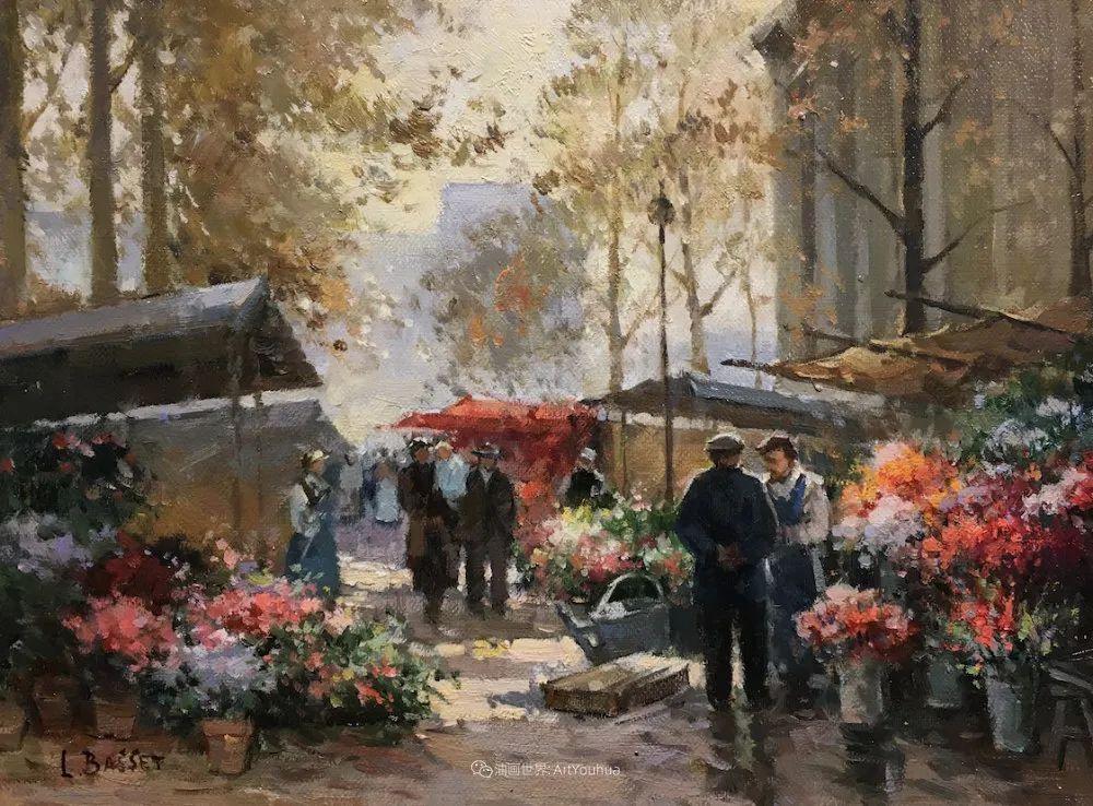 城市里的光,法国画家Louis Basset插图41
