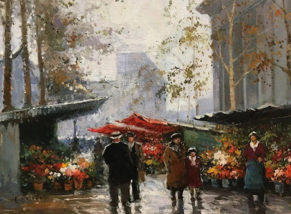城市里的光,法国画家Louis Basset插图53