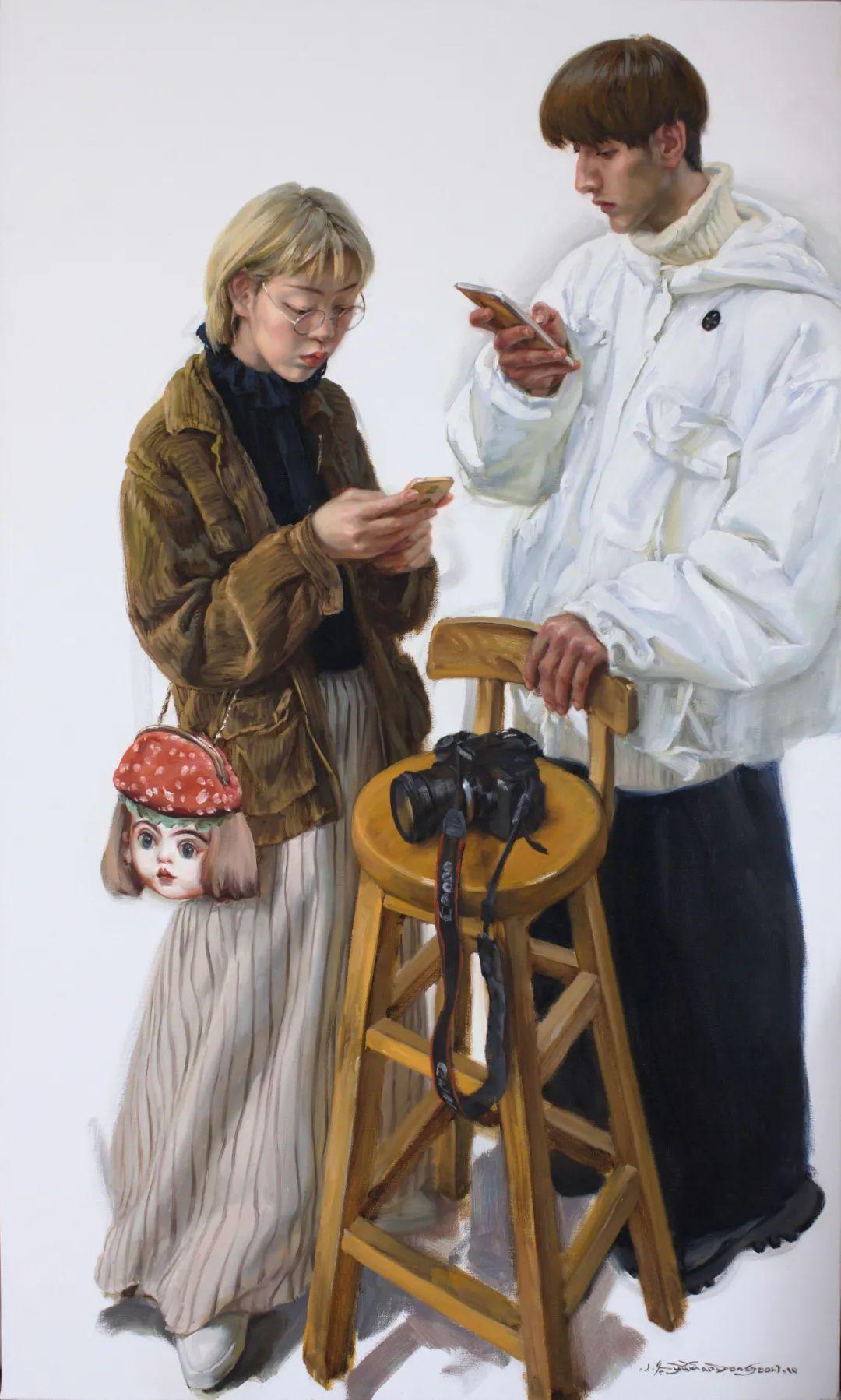 于小冬油画展预告及作品精选插图45